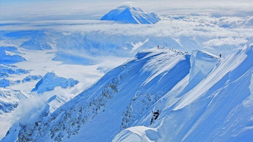 「マッキンリー山」アメリカ, アラスカ州
