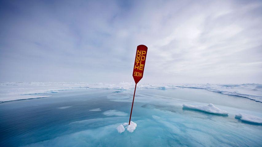 「北極点」