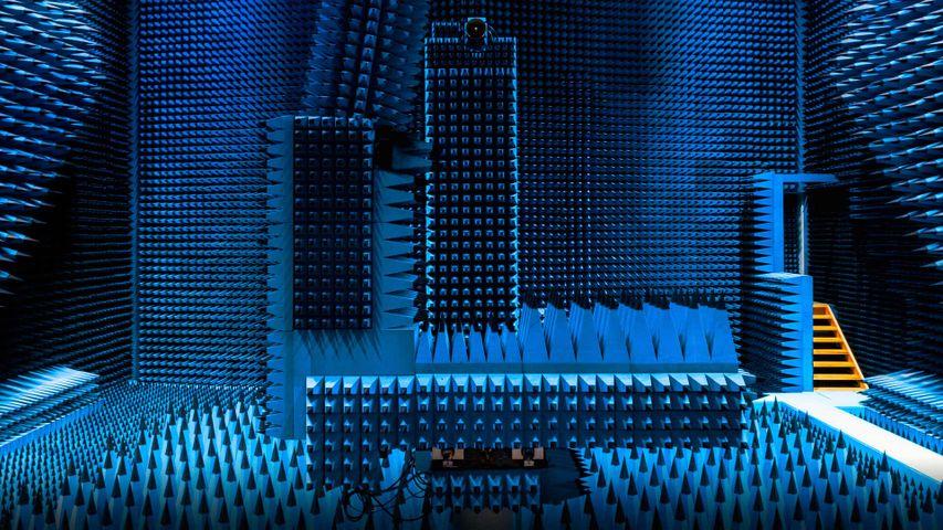 「電波無響室」デンマーク, コペンハーゲン