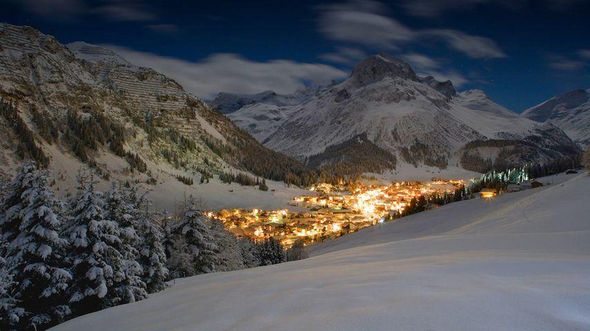 「レッヒ村」オーストリア, チロル州