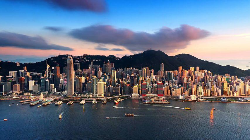 「ビクトリア・ハーバー」中国, 香港