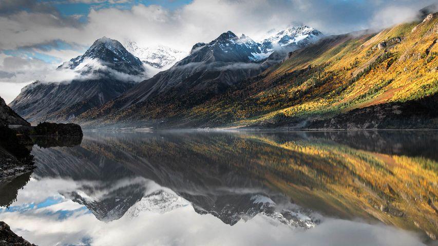 「然烏湖」中国, チベット自治区