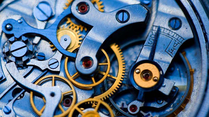 「懐中時計の歯車」