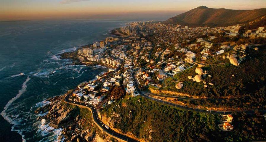 「ケープタウン」南アフリカ