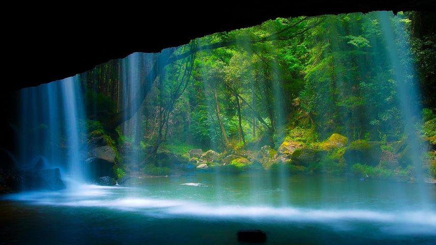 「鍋ケ滝」熊本, 小国町