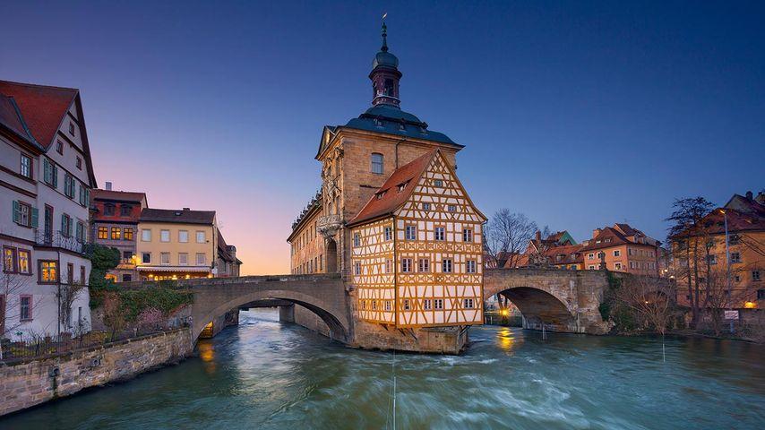 「バンベルクの旧市庁舎」ドイツ, バイエルン州