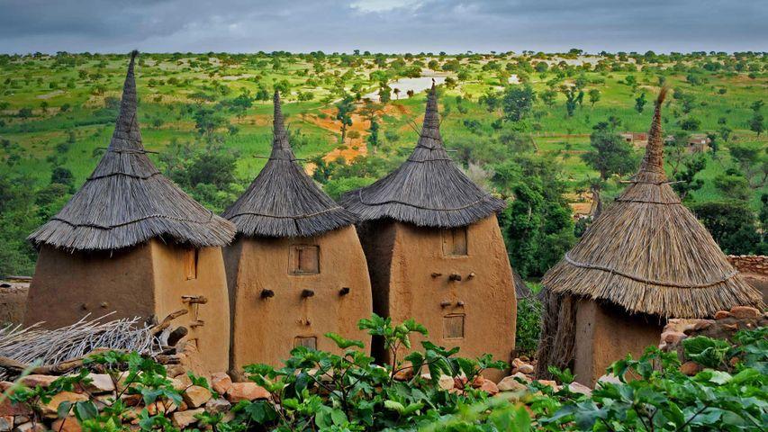 「ドゴン村」マリ共和国, バンディアガラ