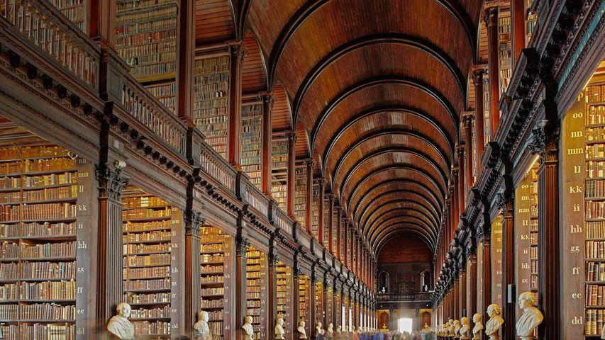 「トリニティカレッジ図書館」アイルランド, ダブリン