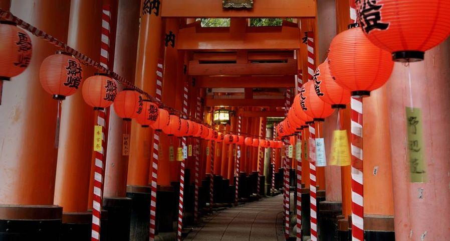 「伏見稲荷大社、本宮祭」京都, 伏見稲荷大社