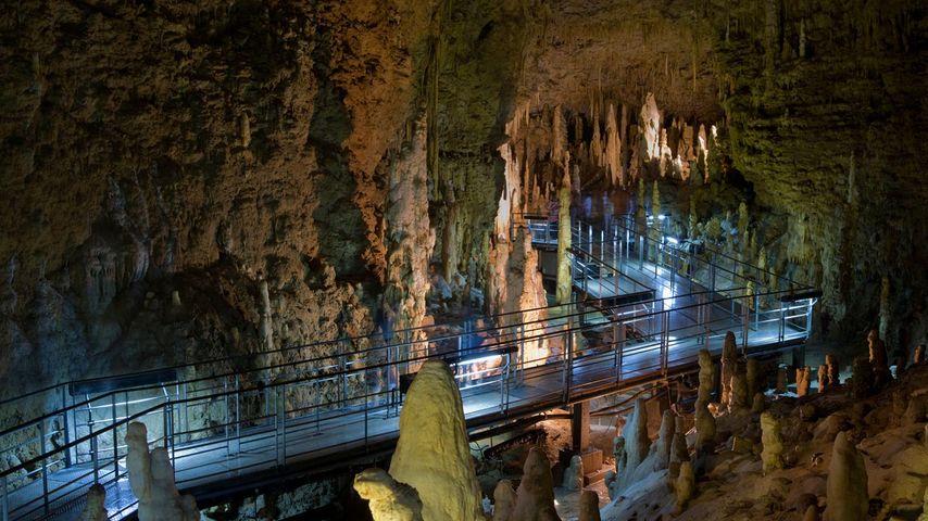 「玉泉洞」沖縄, 南城市