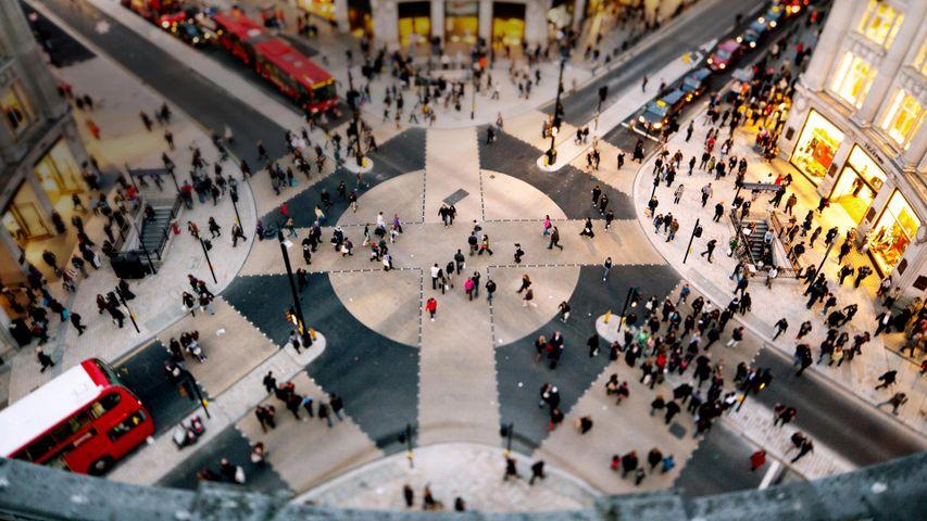 「オックスフォード・サーカス」イギリス, ロンドン