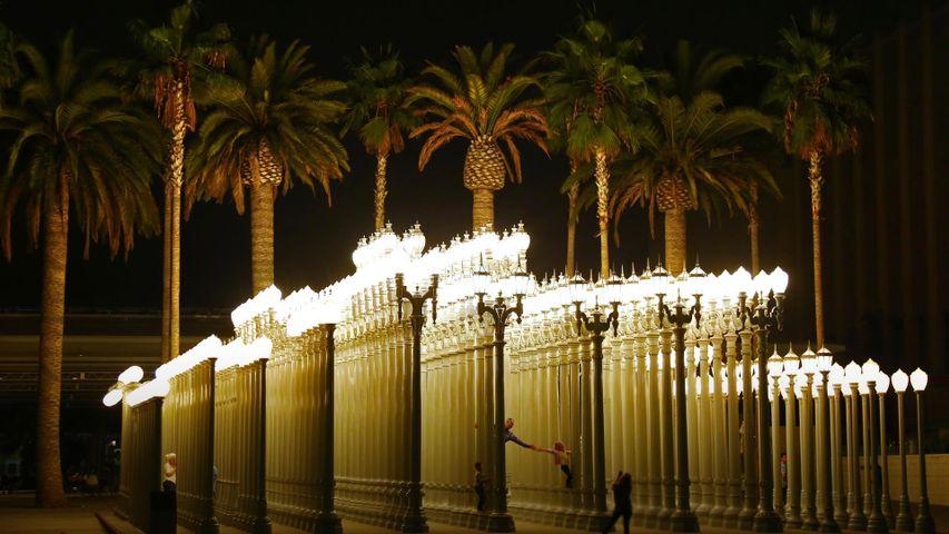 「Urban Light」米国カリフォルニア州, ロサンゼルス