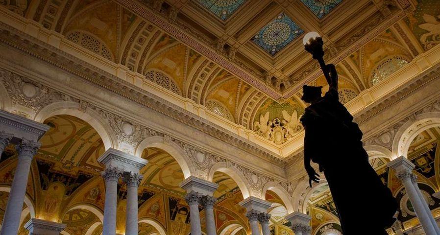 「アメリカ議会図書館」アメリカ, ワシントンDC