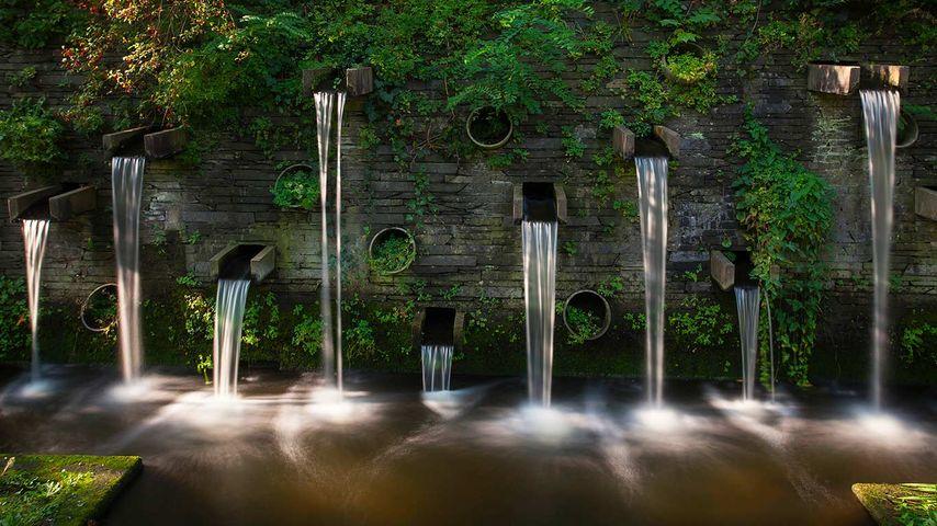 「プランテン・ウン・ブローメン公園」ドイツ, ハンブルク