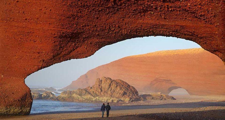 「シジイフニの浜辺」モロッコ, イフニ