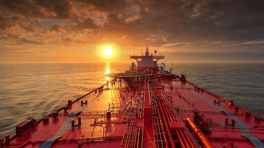 「石油タンカー」アメリカ, テキサス州, ガルベストン