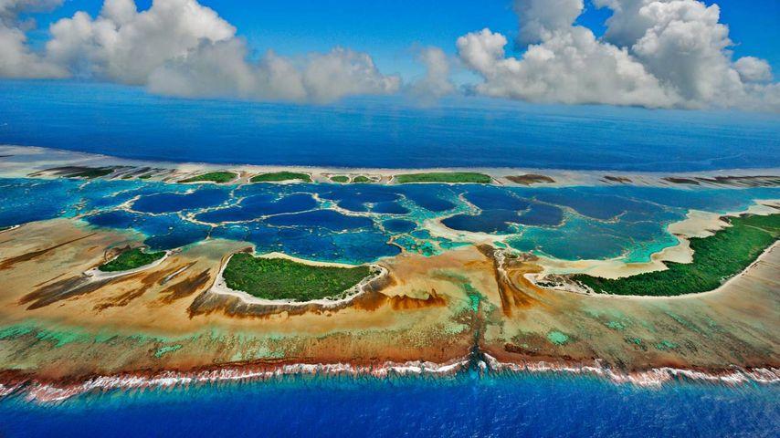 「カロリン環礁」キリバス