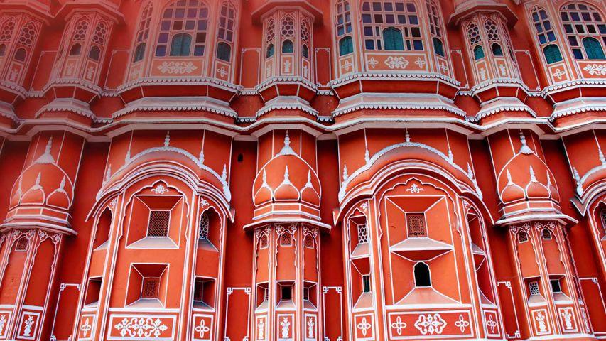 「ハワー・マハル」インド, ジャイプル