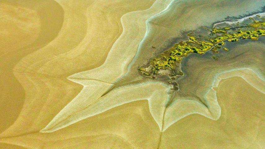 「キング川の干潟」オーストラリア, ウィンダム