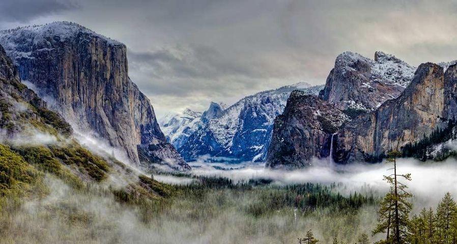 「ヨセミテ国立公園」アメリカ, カリフォルニア