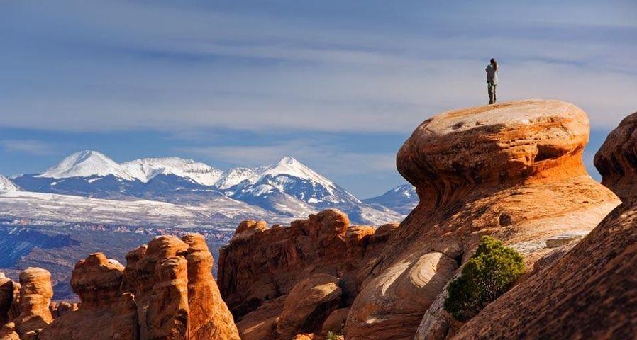 「アーチーズ国立公園」アメリカ, ユタ州