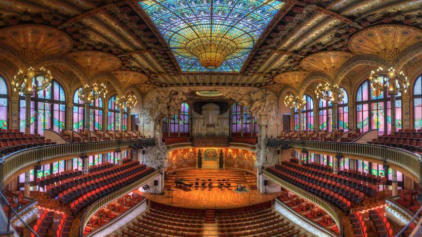 「カタルーニャ音楽堂」スペイン, バルセロナ