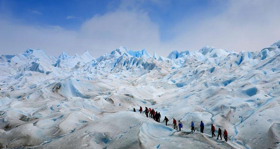 「ペリト・モレノ氷河」アルゼンチン, パタゴニア地方