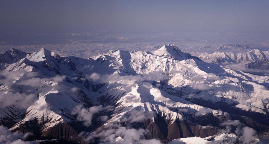 「ウシュバ山の2つの頂」コーカサス山脈