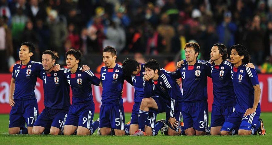 「FIFAワールドカップ2010 日本vsパラグアイ戦」