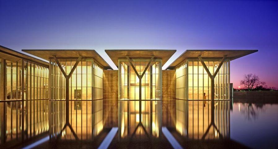 「フォートワース現代美術館」アメリカ, テキサス州