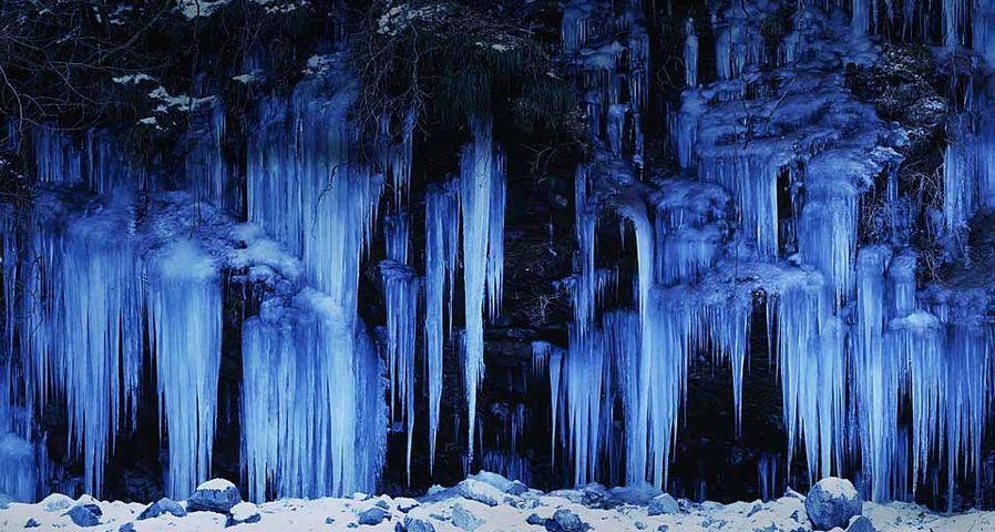 「三十槌の氷柱」埼玉, 秩父