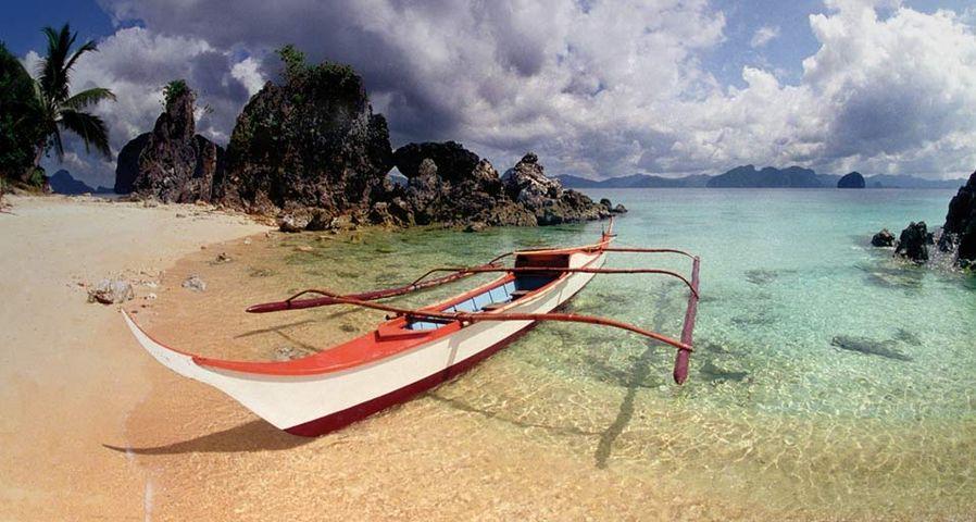 「エル・ニドの浜辺」フィリピン, パラワン島