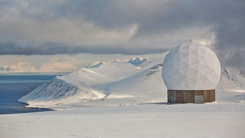 「スヴァールバル衛星通信局」ノルウェー, スヴァールバル諸島