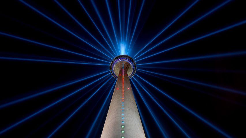「ラインタワー」ドイツ, デュッセルドルフ