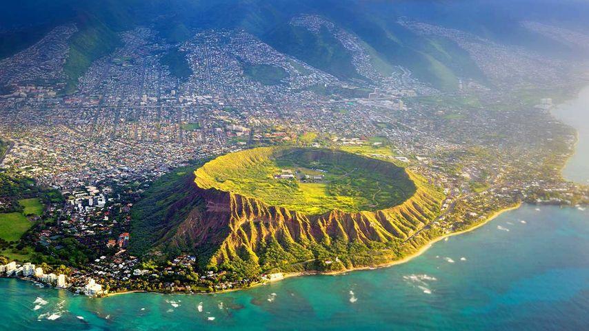 「ダイヤモンドヘッド」アメリカ, ハワイ, オアフ島