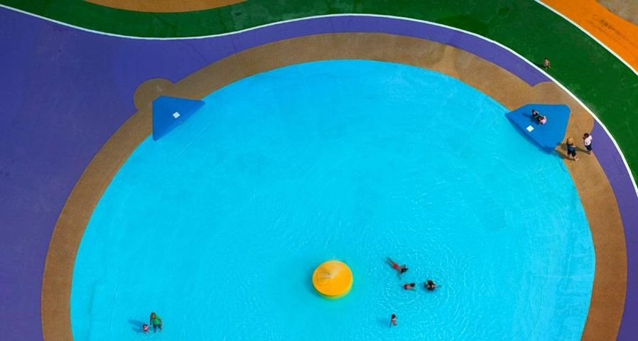 「子供プール」イギリス, ワトフォード