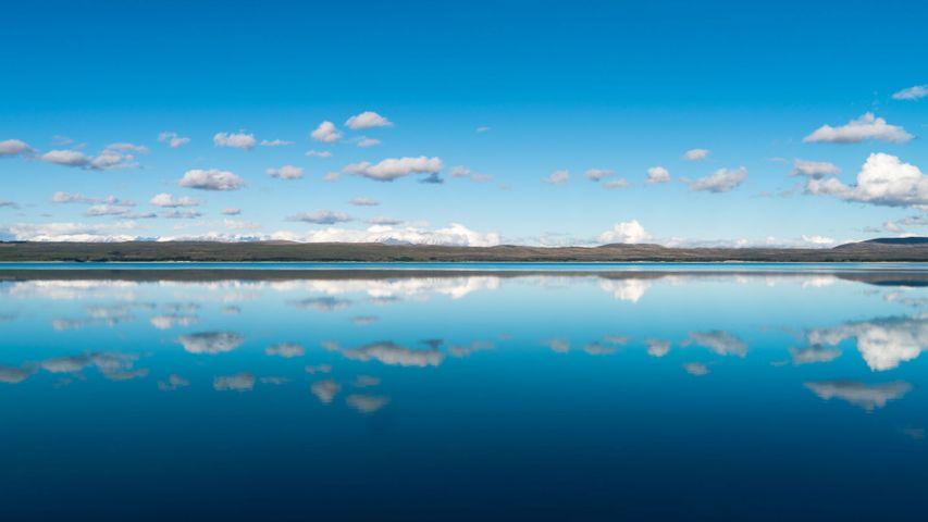 「プカキ湖」ニュージーランド南島