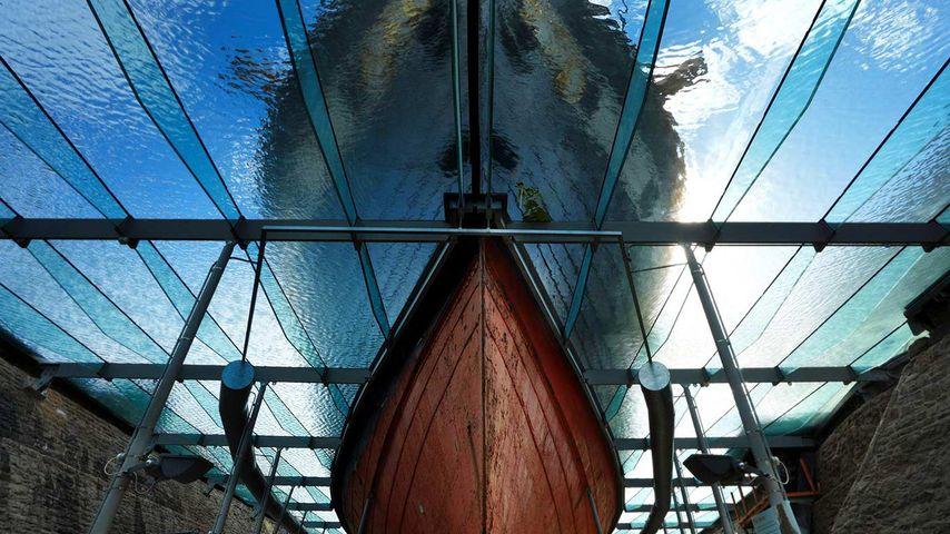 「SSグレート・ブリテン号の船首」イギリス, ブリストル