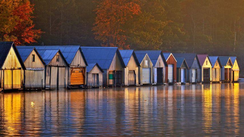 「ボートハウス」カナダ, オンタリオ州
