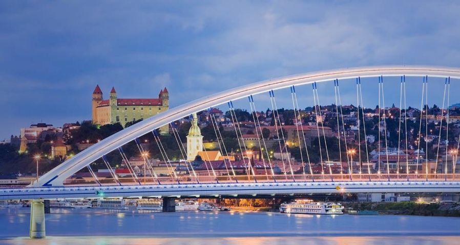 「アポロ橋」スロヴァキア, ブラチスラヴァ