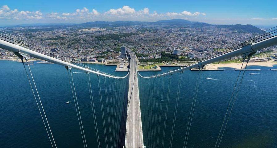 「明石海峡大橋と神戸」兵庫, 神戸