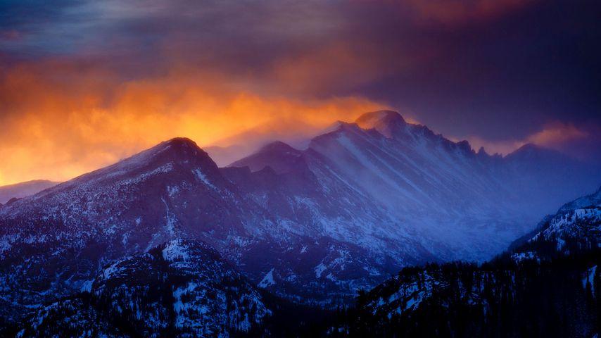 「ロッキーマウンテン国立公園」アメリカ, コロラド州