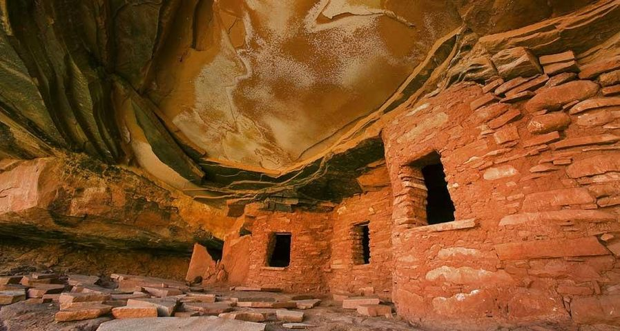 「シダー・メサの廃墟」アメリカ, ユタ州