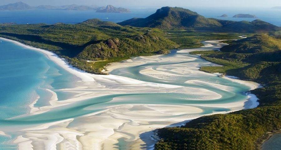 「ホワイトヘブンビーチ」オーストラリア, クイーンズランド州