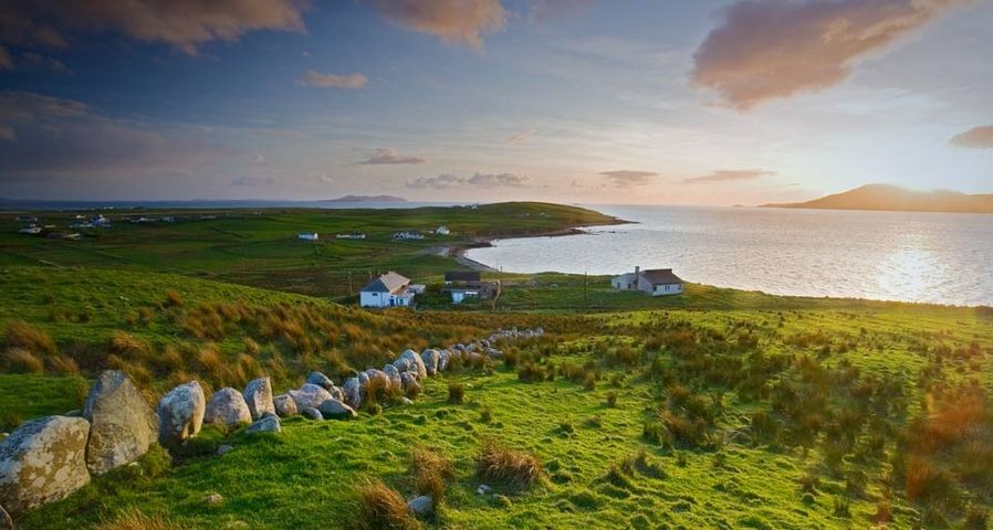 「クレア島」アイルランド, メイヨー州