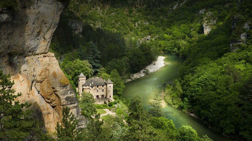 「タルヌ渓谷」フランス, ラングドック=ルシヨン地域圏, ロゼール県