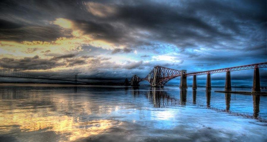 「フォース鉄道橋」イギリス, スコットランド, エディンバラ