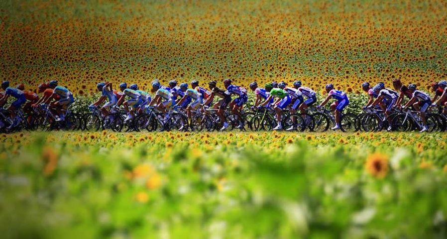 「ツールド・フランス2010」フランス, ルヴェル-エクス・トロワ・ドメーヌ間