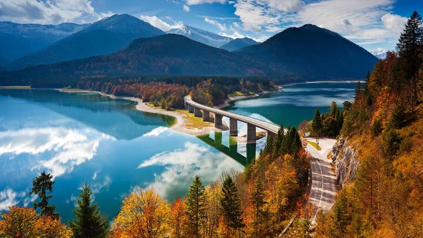 都市森林_「ジルヴェンシュタイン湖」ドイツ, オーバーバイエルン | Bing ...