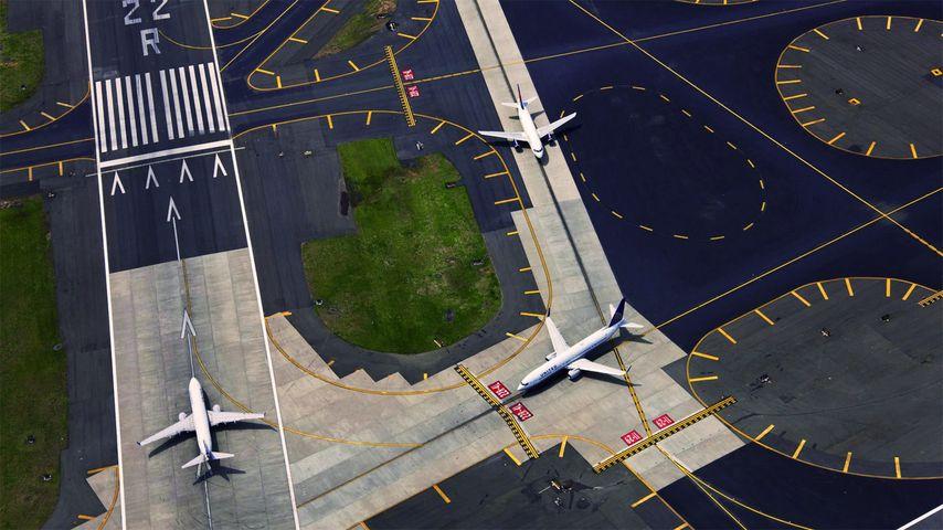 「ニューアーク・リバティー国際空港」アメリカ, ニュージャージー州